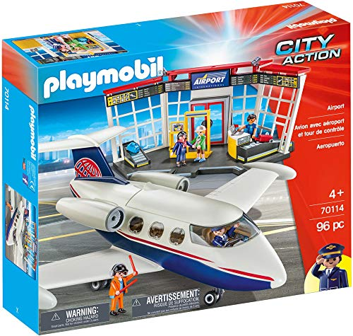 Playmobil 70114 Airport 96PC City Action Fast Delivery