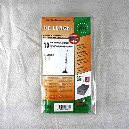 VT 25 sacchetti per scopa elettrica confezione da 10 sacchi carta