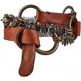 GUT INSTINKT - Cintura da Donna Artigianale di Lusso in Pelle Italiana - ROMA