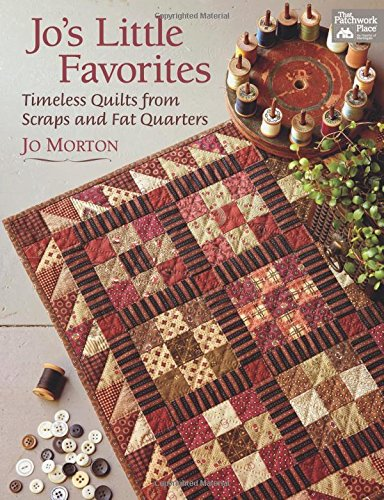 Patchwork Kostüm - Jo's Little Favorites: Timeless Quilts from Scraps and Fat Quarters (That Patchwork Place)