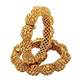 Aarvi Collections 24k Gold Plated Royal ...