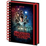 Stranger Things notebook a spirale A5, Multicolore