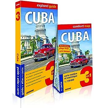 Cuba : Guide + Atlas + Carte 1/730 000