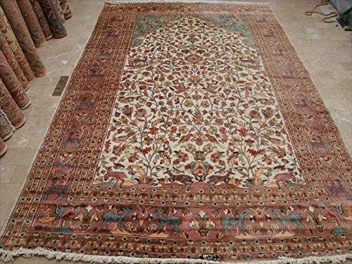 esclusivo-tappeto-albero-della-vita-peace-birds-rettangolo-tappeto-annodato-a-mano-lana-seta-118-x-7