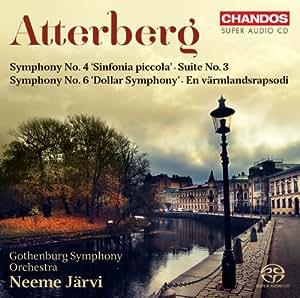 Atterberg: Orchestral Works, Vol. 1- Symphony No. 4 / Symphony No. 6 / Suite No. 3 / En Värmlandsrapsodi