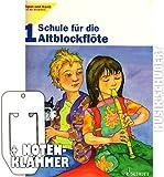 Spiel und Spaß mit der Blockflöte - Schule für Altblockflöte Band 1 inkl. praktischer Notenklammer - die beliebte Blöckfötenschule für Einzel- und Gruppenunterricht für Kinder ab 8 Jahre (broschiert) von Gerhard Engel, Gudrun Heyens u.a. (Noten/Sheetmusic)