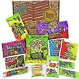 Mini Surtido de Gominolas u00c1cidas | Selecciu00f3n de Golosinas Americanas u00c1cidas| La caja incluye Warheads Extreme, Sour Jelly Beans, Bubblegum | Pack de fiesta | 12 unidades