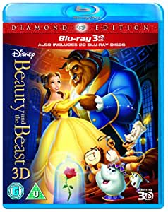 Beauty and the Beast (Blu-ray 3D + Blu-ray) [Region Free]