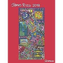 James Rizzi 2018 - Kunstkalender 2018, Posterkalender, Pop Art, Wandkalender  -  48 x 64 cm