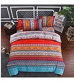 Die besten Gemütliche Bettwäsche Tröster Sets - Bettbezug Set, Morbuy Böhmisch Klassisch Muster 4 tlg Bewertungen