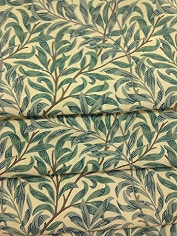 William Morris en osier RAMEAU mineures Vert * * * * * * * * made-2-measure Store romain jusqu'à 127cm de large x 127cm goutte sur la qualité Store romain Track