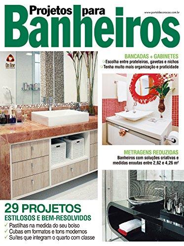 Projetos para Banheiros 23 (Portuguese Edition) por On Line Editora