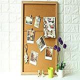 Nome del prodotto: Lavagna creativa per l'ufficio in casa Cornice per messaggi personalizzata con cornice in legno con foto di foto in sughero creativo in sugheroMateriale: legnoDimensioni: 63 * 46 * 6 cmColore: marrone, biancoPeso: 1,8 kgMat...