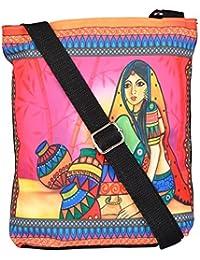 All Things Sundar Womens Sling Bag / Cross Body Bag - S06 - 02