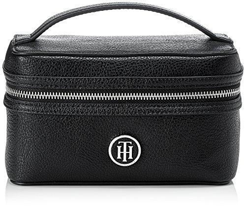 Tommy Hilfiger - Th Core Make Up Bag, Borse organizer portatutto Donna Nero (Black)