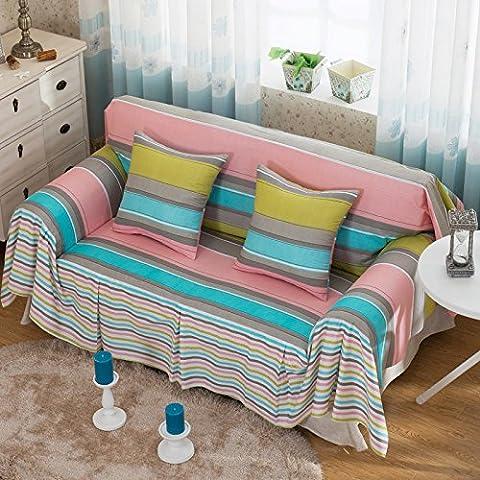 izxc minimalista idilliaco all-cotton panno Divani aspirante, Color Bar,