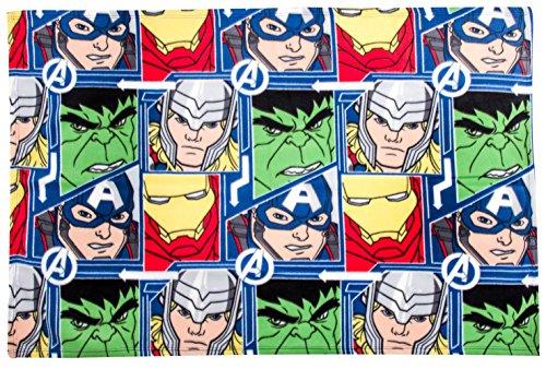 Plaid Manta Avengers Hulk Thor 100x 150cm