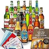 Biergeschenk für Ihn mit 16 Flaschen