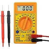 Electraline 59002 digitale multimeter, elektronisch, 6 functies, 19 kaliber, geel