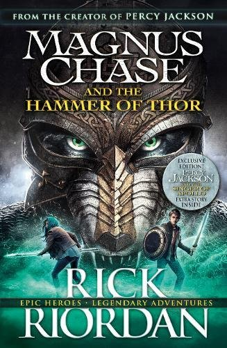 Magnus Chase and the Hammer of Thor Cover Image