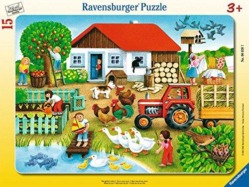 Ravensburger 06020 - Was gehört wohin? Kinder Spiele Puzzles