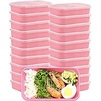 Contenants de préparation de repas avec couvercles, boîte à lunch de qualité supérieure sans BPA réutilisable pour lave…