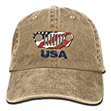 American Jeep Denim Hat Adjustable Mens Cute Baseball Caps