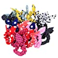Sanwood 10Pcs Rabbit Ear Hair Tie Bands Style Ponytail Holder : everything five pounds (or less!)