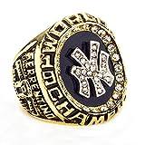 HTEGAE Männer und Männer Das Jahr 1998 der Golden Yankees Meisterschaft Ringe,Größe 57 (18.1)