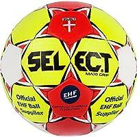 Select máxima de Grip de Balonmano, Otoño-Invierno, Color Amarillo/Rojo/Blanco, tamaño 1