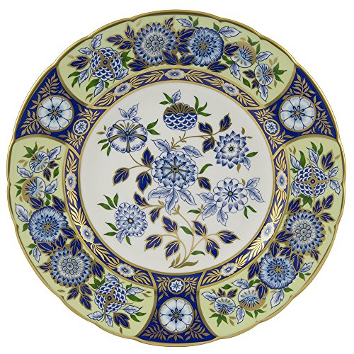 Royal Crown Derby - Plate - Midori Meadow Accent