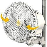 Ventilador oscilante con clip pinza 17cm 20W Secret Jardin (Monkey Fan MFO20)