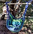 """Hängesessel """"Holiday"""", Sitzschaukel, Gartensessel zum Aufhängen, blau von Marktplatz Dietrich Haase auf Gartenmöbel von Du und Dein Garten"""