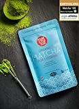 Bio-Matcha-Tee-for-Cooking-108g-GASTRO-STARTER-ideal-fr-Smoothies-Lattes-zum-Kochen-Backen-Bio-Grntee-Pulver-Culinary-Grade-by-Matcha-108