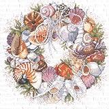 Janlynn Kreuzstich-Set Seashell Wreath