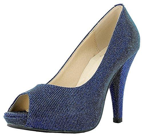 n Schuhe - Blau Gr. 40 (Meerjungfrau Paar-kostüm)