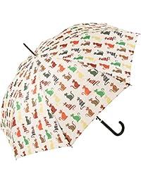 Signare Paraguas Mango de Bastón en el diseño Gato descarado