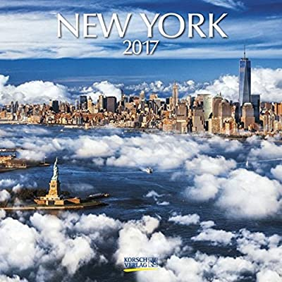 New York 2017: Broschürenkalender Mit Ferienterminen