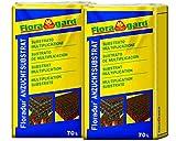 Florgard Floraton 3 Schildkrötenerde Bodendgrund für Terrarien, 140L (2x70L)