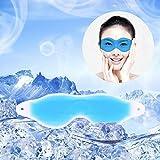 Hot Summer Cool Ice Eye Mask Sleep Headache Relief Goggles Eye Gel Ice Goggles