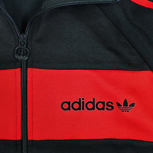 Adidas Giacca Allenamento Beckenbauer Uomo Schwarzrot Da Xs