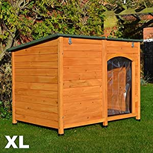 FeelGoodUK Dog Kennel, 120 x 85 x 91 cm