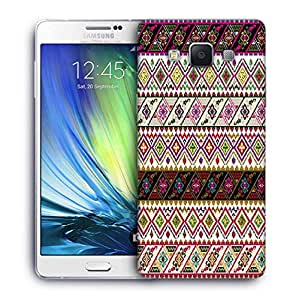 Snoogg Abstract Pattern Design Printed Protective Phone Back Case Cover For Samsung Galaxy A7