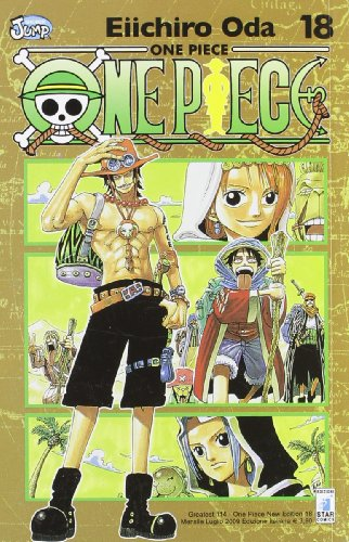 One piece. New edition: 18 (Greatest) por Eiichiro Oda