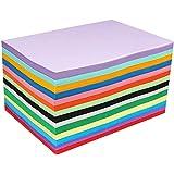 100 A4 papier couleur feuilles cartonnées couleur A4 cartes colorées Papier Cartonné Coloré 210x297mm feuilles de papier orig
