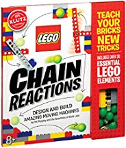 Lego Chain Reactions: Design and build amazing moving machines (Klutz)