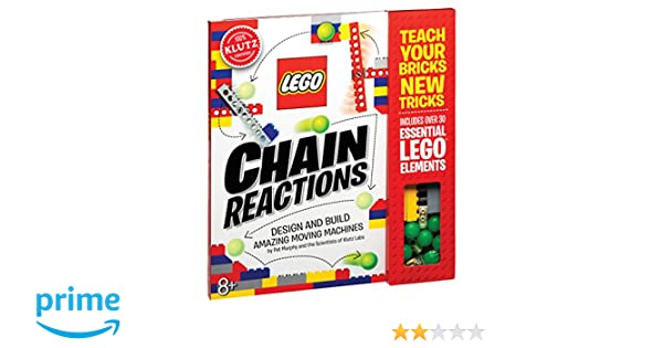 Amazon.fr - LEGO Chain Reactions  Design and build amazing moving machines  - Pat Murphy and the Scientists of Klutz Labs - Livres f7d9db857c5