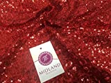 MTex 3mm, maßgeschneidert auf Sequins Stoff mit 48cm