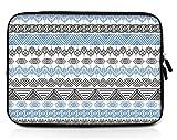 Sidorenko 15-15,6 Zoll Laptop Hülle - Laptoptasche aus Neopren, 42 Designer Case zur Auswahl