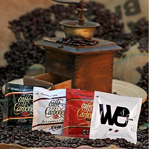 ESE Kaffee-Pads Packung mit 4 Geschmacksrichtungen - Espresso - Ristretto - 100 % Arabica -...